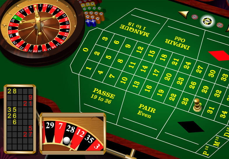 Microgaming French Roulette slot 56138